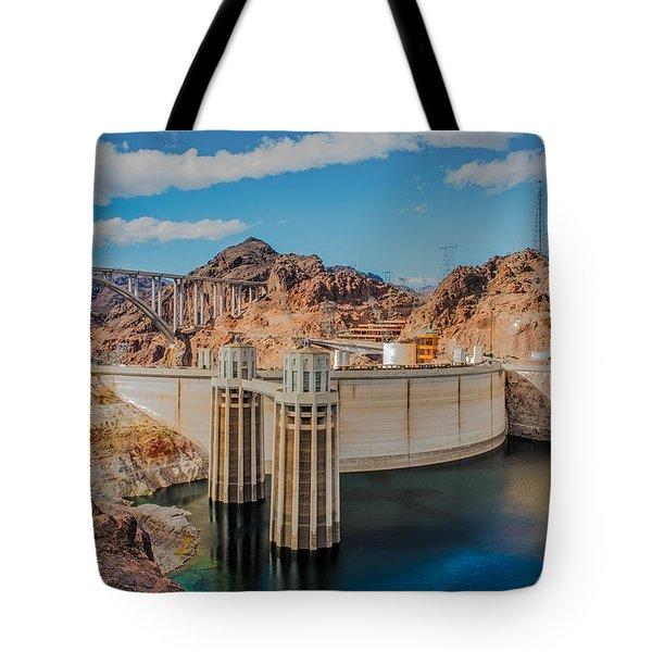 Hoover Dam Reservoir Tote Bag