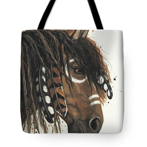 Hopa Majestic Mustang Series 47 Tote Bag by AmyLyn Bihrle