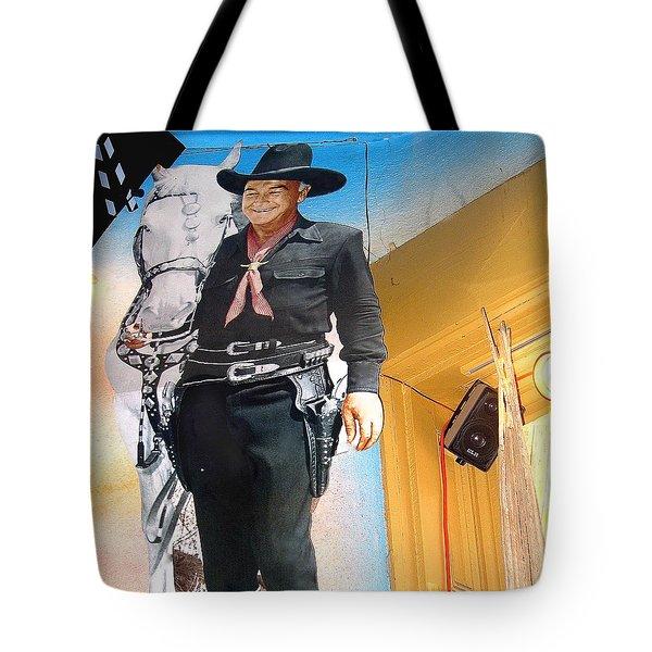 Hopalong Cassidy Cardboard Cut-out Tombstone Arizona 2004 Tote Bag