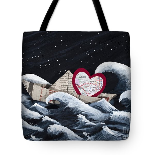 Hope Floats Tote Bag by Kerri Ertman