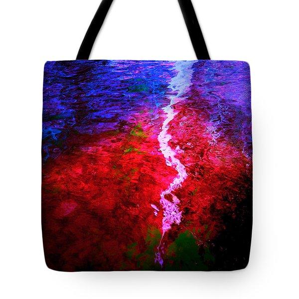 Tote Bag featuring the digital art Hope For A Broken Heart - Healing Art by Absinthe Art By Michelle LeAnn Scott