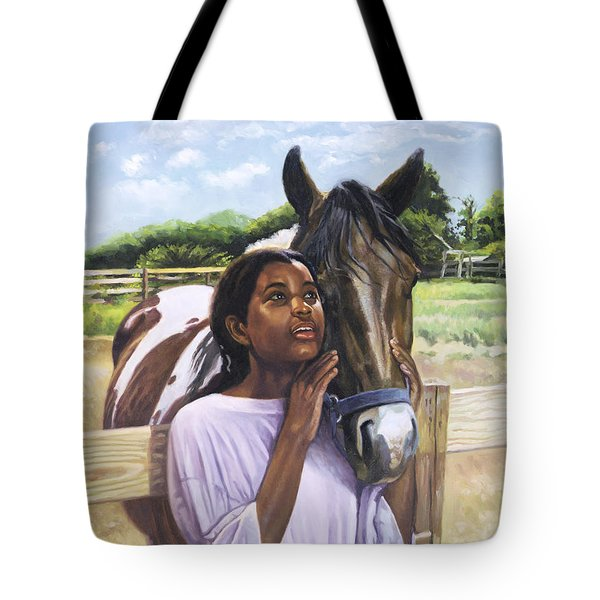 Hope For Tomorrow Tote Bag by Colin Bootman