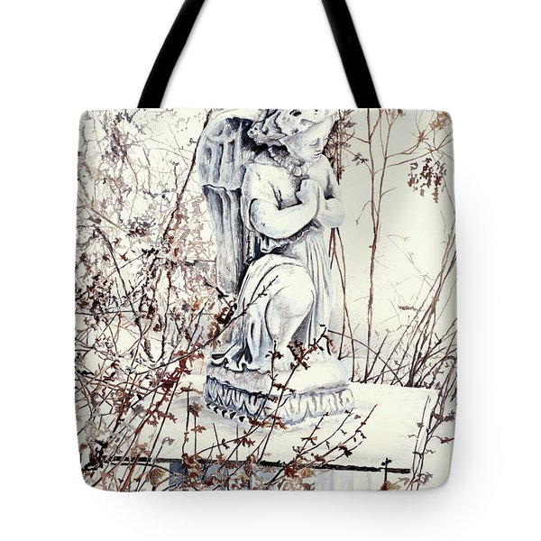 Hope In Winter Tote Bag
