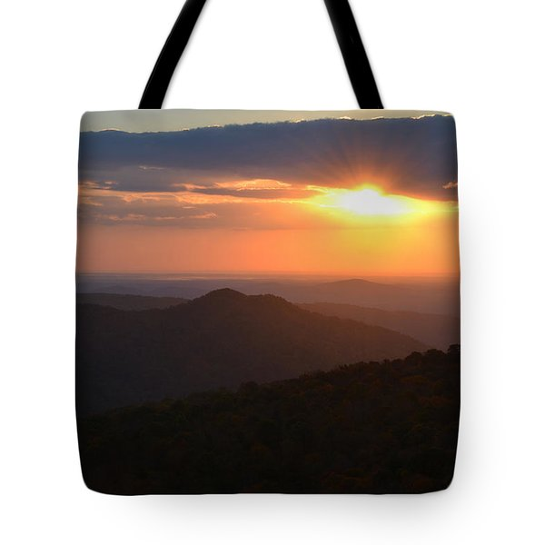 Tote Bag featuring the photograph Hope Is Like The Sun by Melanie Moraga