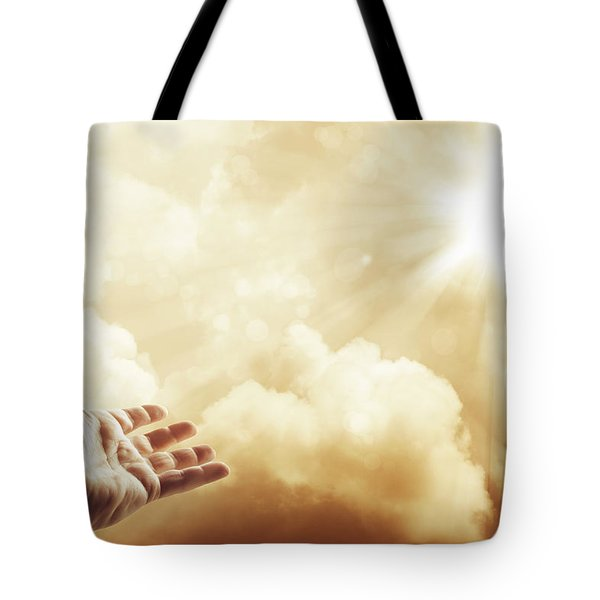 Hope Tote Bag by Les Cunliffe