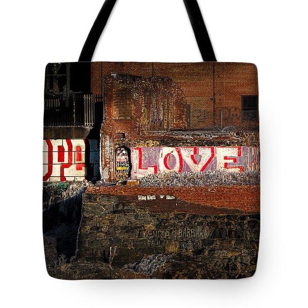 Hope Love Lovelife Tote Bag