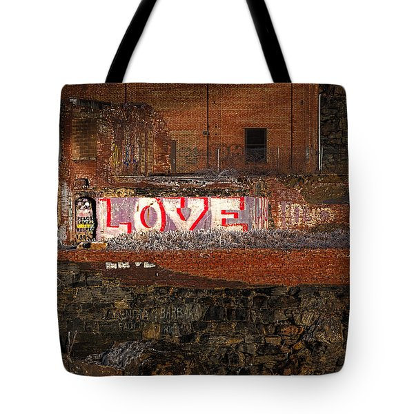 Hope Love Lovelife Tote Bag by Bob Orsillo