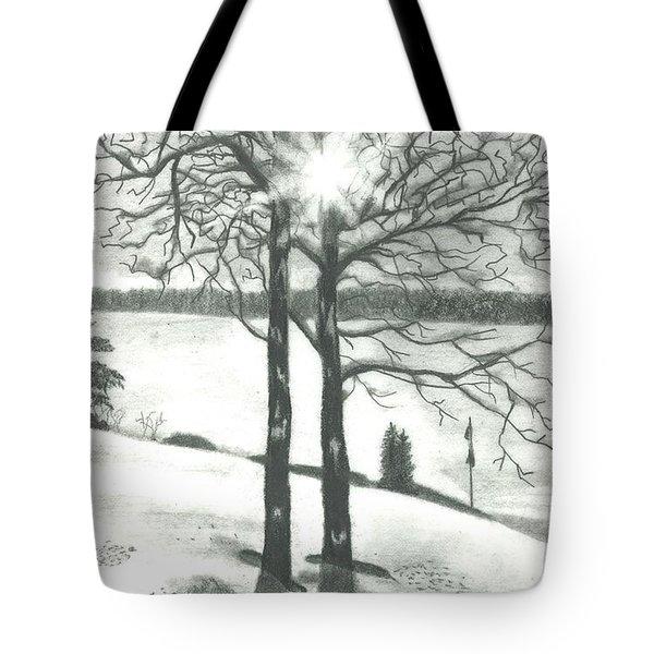 Hope Of Spring Tote Bag