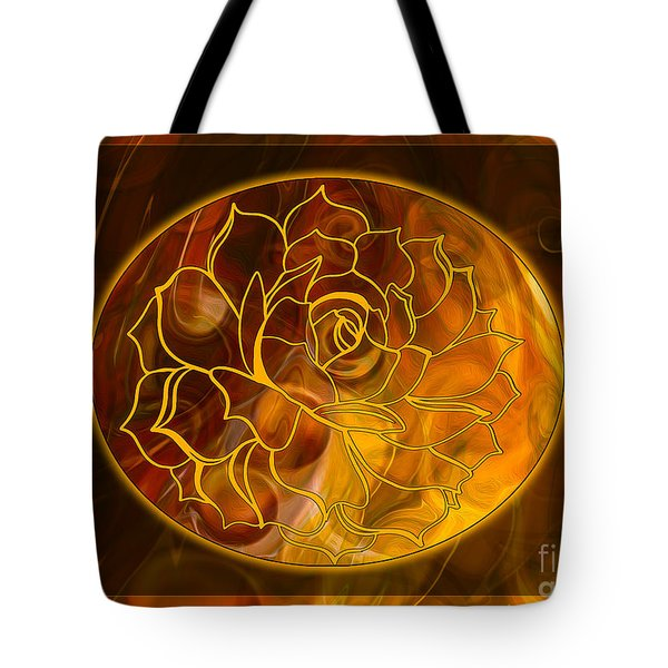 Hope Springs Eternal Abstract Healing Art Tote Bag