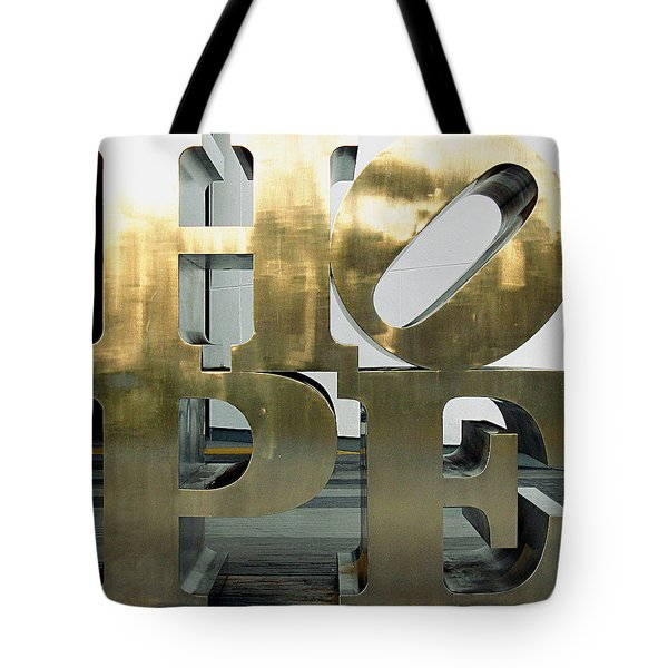 Tote Bag featuring the photograph Hope Squared by Greg Allore