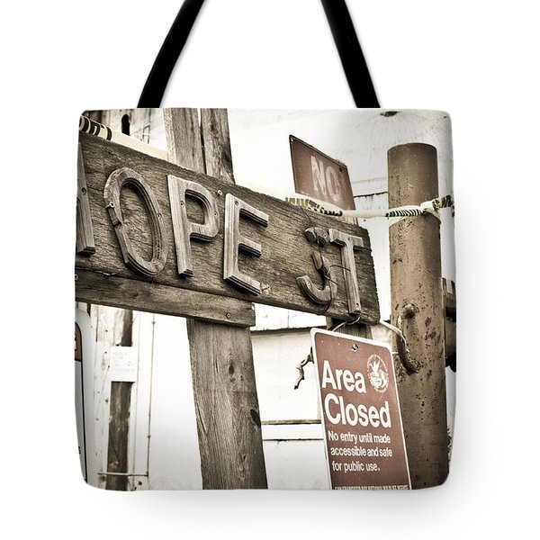 Hope Street Tote Bag