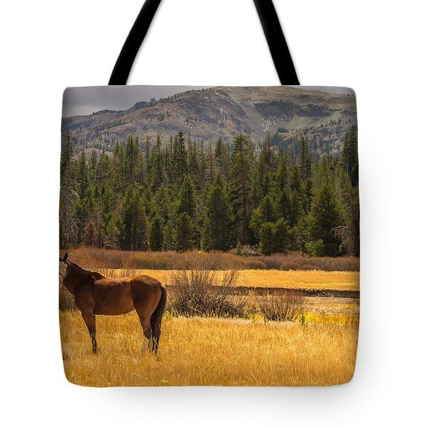 Hope Valley Horse Tote Bag