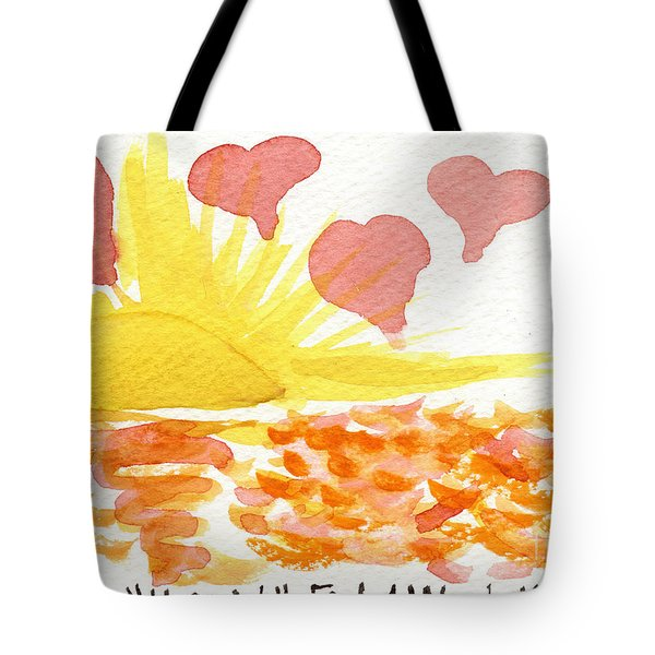 Hope Will Find A Way To You Tote Bag