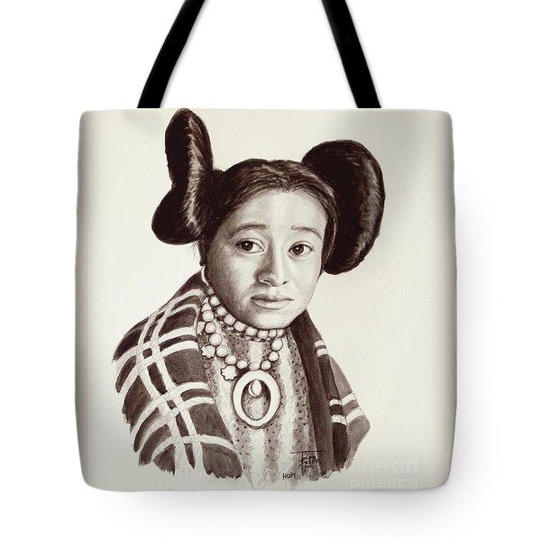 Hope Woman Tote Bag