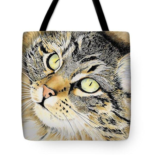 Hopeful Tote Bag by Shari Nees