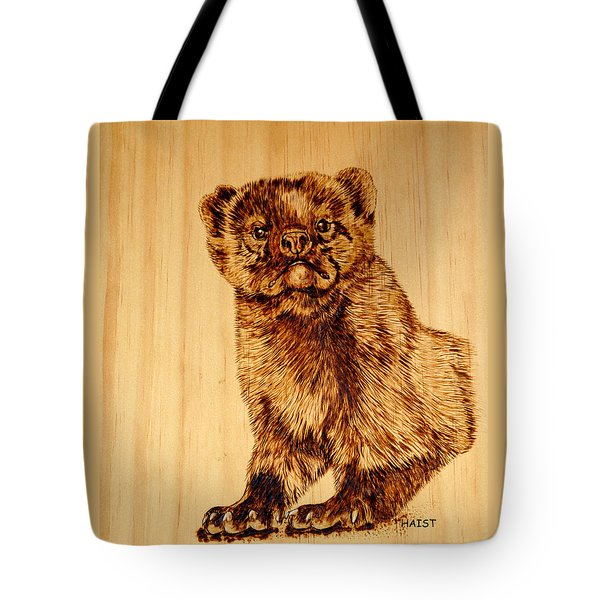 Hope's Marten Tote Bag by Ron Haist