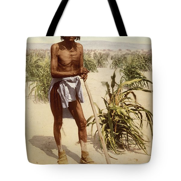 Hopi Man With A Hoe Tote Bag