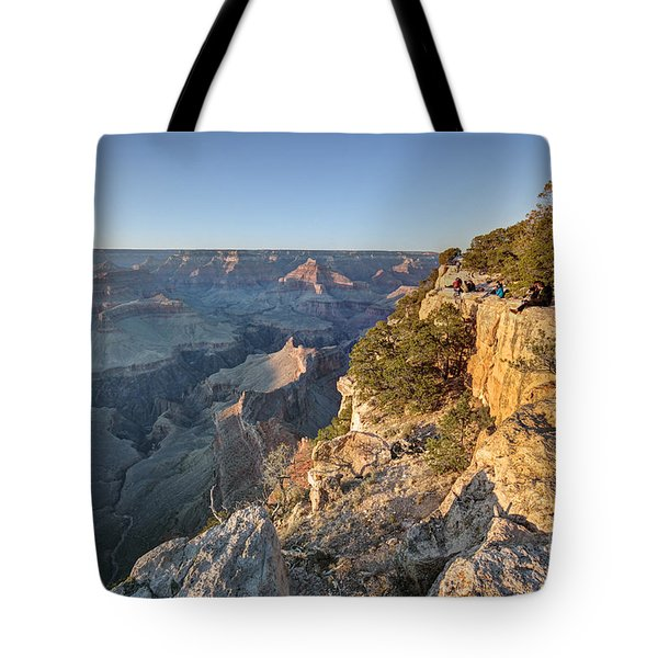 Tote Bag featuring the photograph Hopi Point Grand Canyon by Martin Konopacki