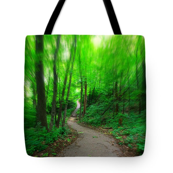 Hopkins Path Tote Bag by Amanda Stadther