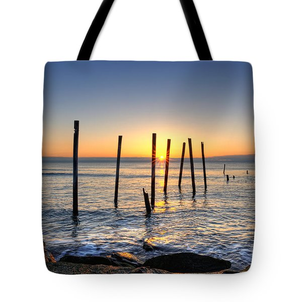 Horizon Sunburst Tote Bag