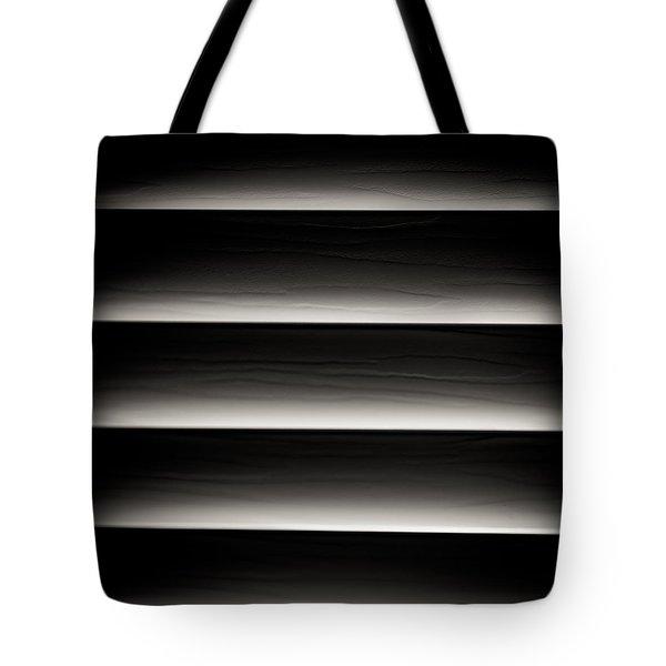 Horizontal Blinds Tote Bag