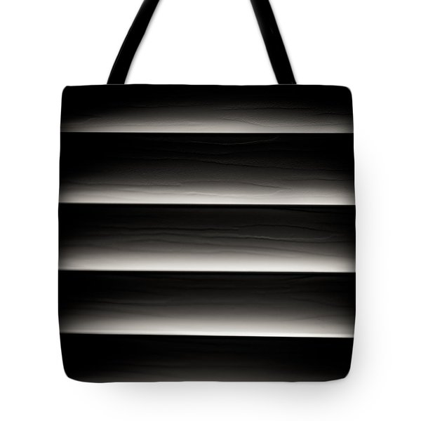 Horizontal Blinds Tote Bag by Darryl Dalton