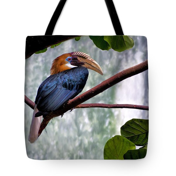Hornbill In Paradise Tote Bag
