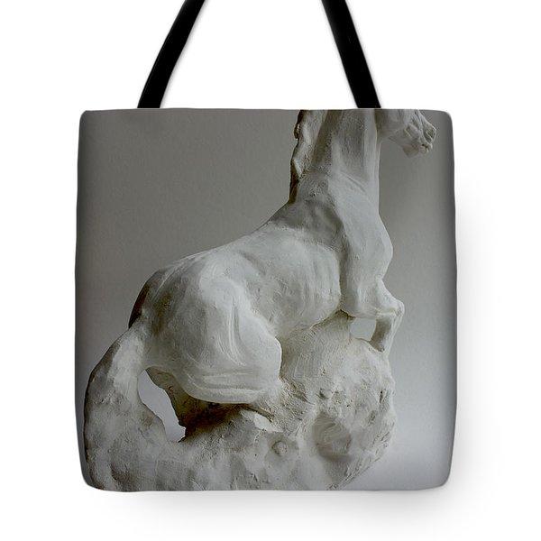 Horse 2 Tote Bag by Derrick Higgins