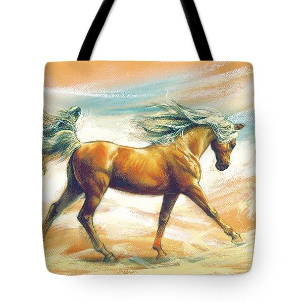 Horse Akalteke Tote Bag