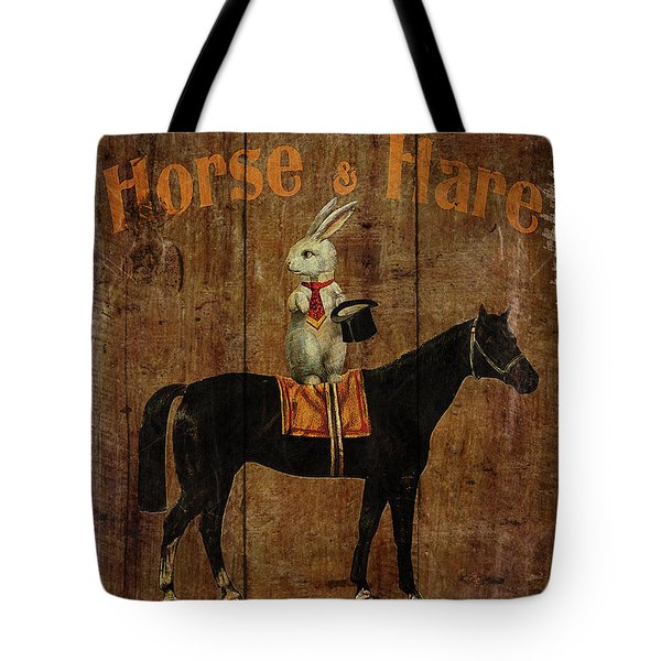 Horse And Hare Pub Tote Bag