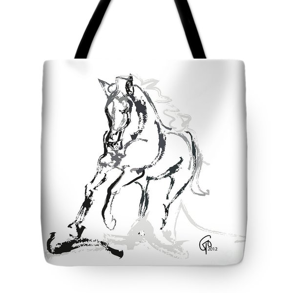 Horse- Andalusian Angel Tote Bag