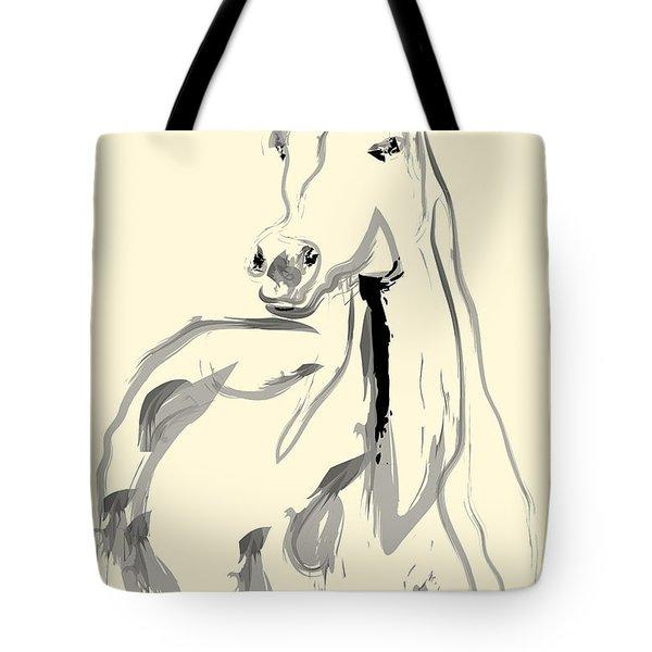 Horse - Arab Tote Bag