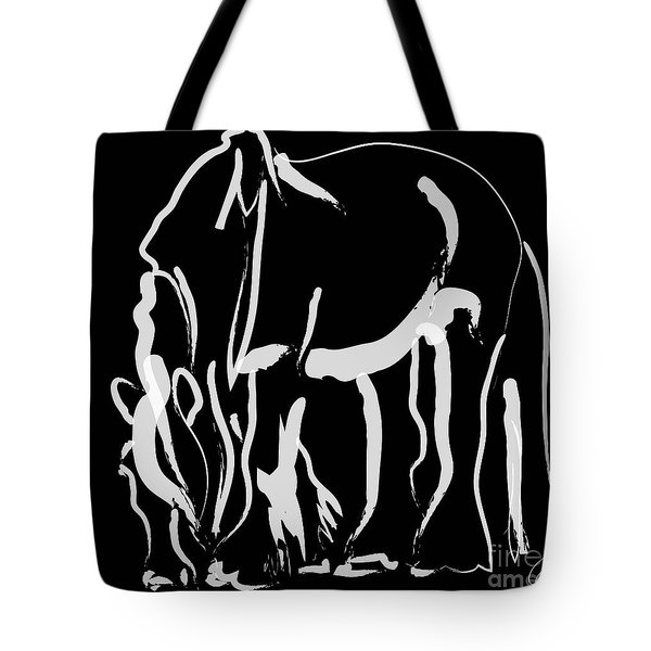 horse- Be strong Tote Bag