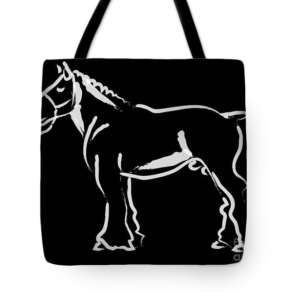 Horse - Big Fella Tote Bag