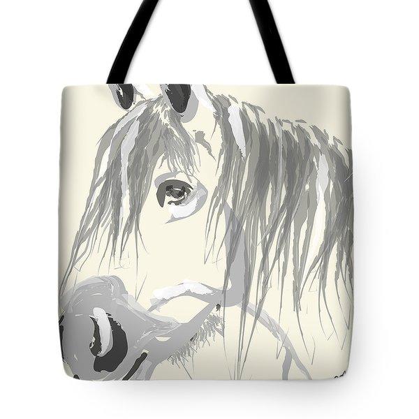 Horse- Big Jack Tote Bag