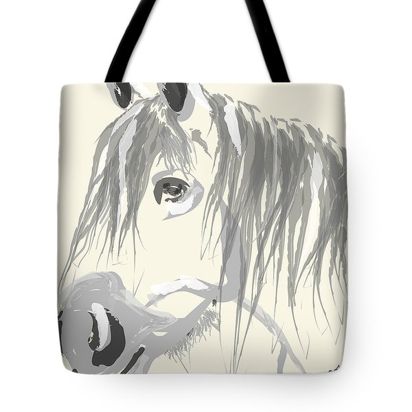 Horse- Big Jack Tote Bag