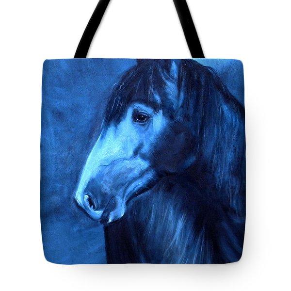 Horse - Carol In Indigo Tote Bag
