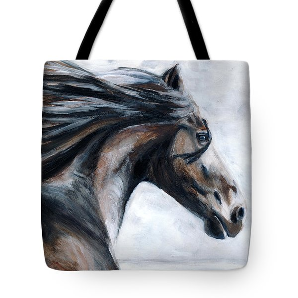 Horse Tote Bag by Denise Deiloh