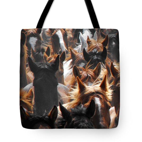 Horse Ears Tote Bag
