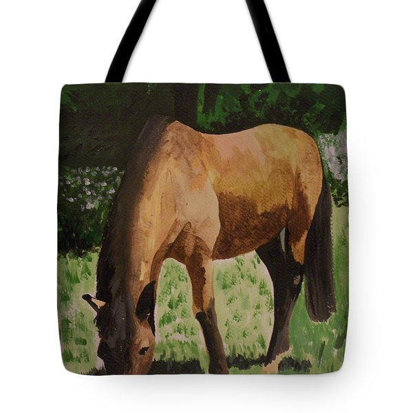 Horse Tote Bag by Isabella F Abbie Shores FRSA