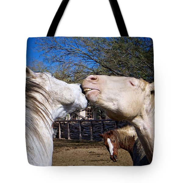 Horse Emotion Tote Bag