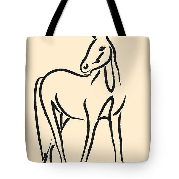 Horse - Grace Tote Bag