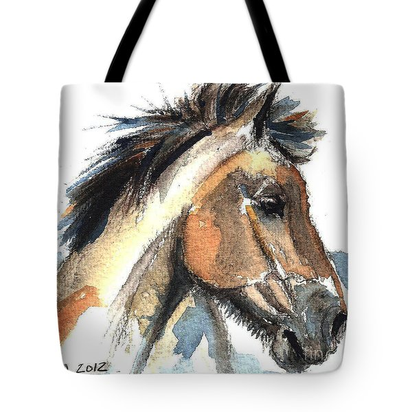 Horse-jeremy Tote Bag