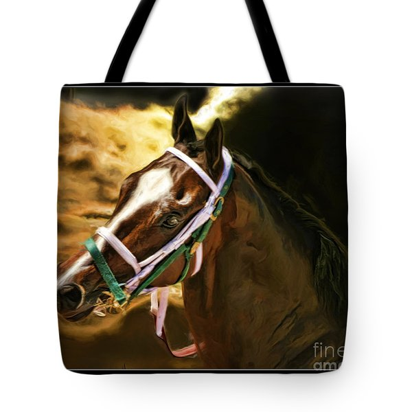 Horse Last Memories Tote Bag by Blake Richards