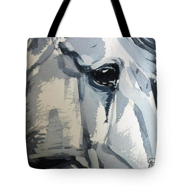 Horse Look Closer Tote Bag