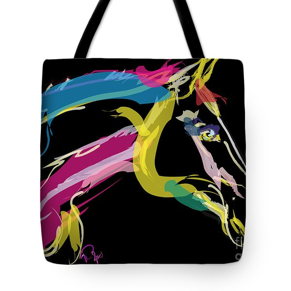 Horse- Lovely Colours Tote Bag