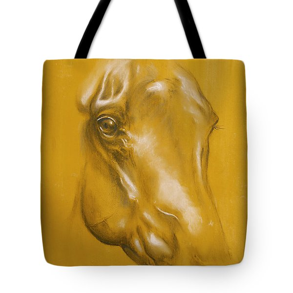 Horse Portrait Tote Bag by Tamer and Cindy Elsharouni