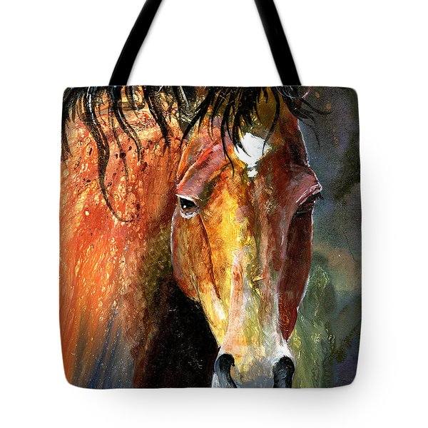 Horse Tote Bag by Sherry Shipley