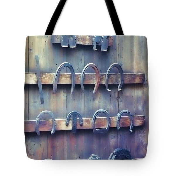 Horse Shoes Tote Bag by JAMART Photography