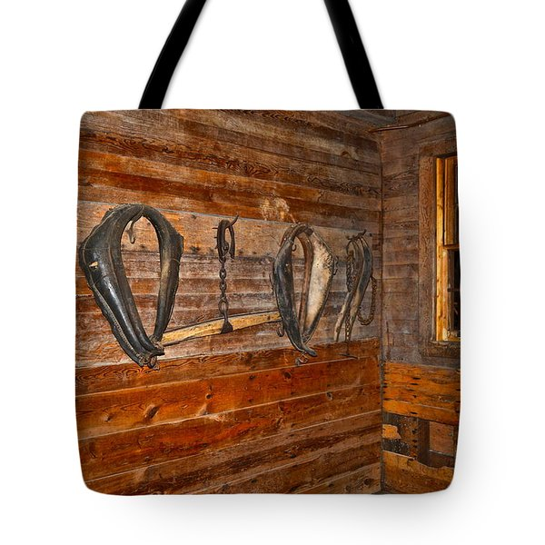 Horse Stable Tote Bag